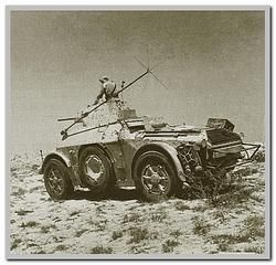 Italian Autoblinda AB-41, North Africa, pin by Paolo Marzioli