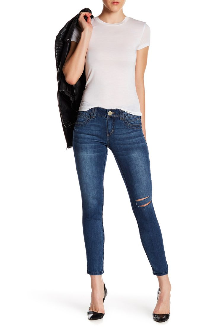 AB Technology Freedom Ankle Skimmer Jean