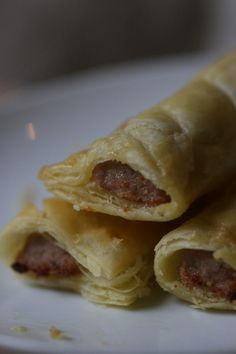 Gluten free sausage rolls - these look amazing!