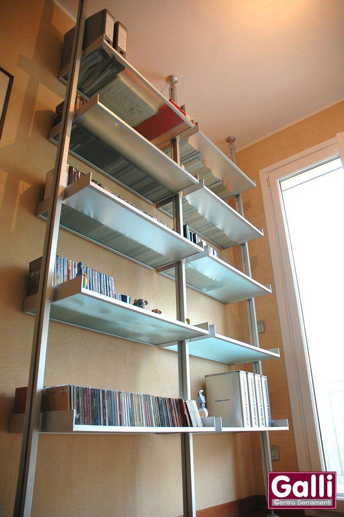 Libreria in #Alluminio #Ventimiglia | www.gallisrl.eu