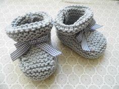comment tricoter les chaussons bebe                                                                                                                                                                                 Plus