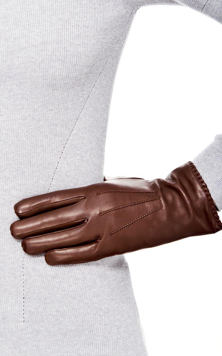 Women's Nappa Lether Gloves by Merola Gloves - Moda Operandi