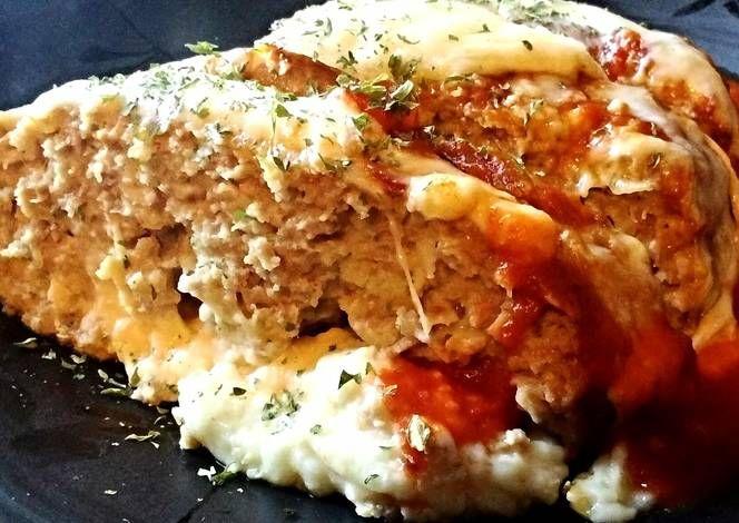 Chicken Parmesan Meatloaf Recipe - I think Chicken Parmesan Meatloaf ...
