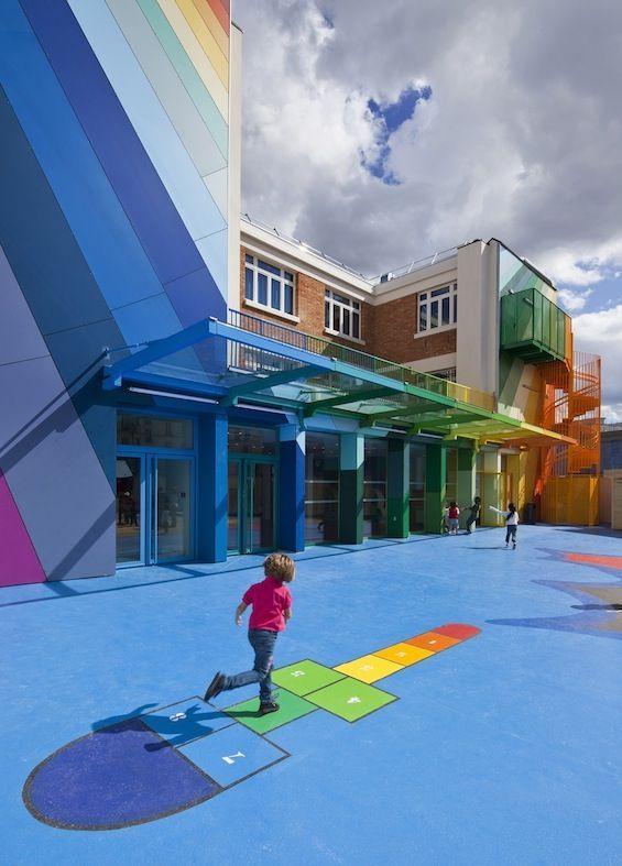 Ecole Maternelle Pajol By Palatre Amp Leclere School