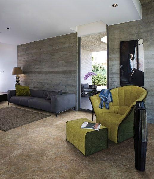 Living room - podłogi winylowe wicanders