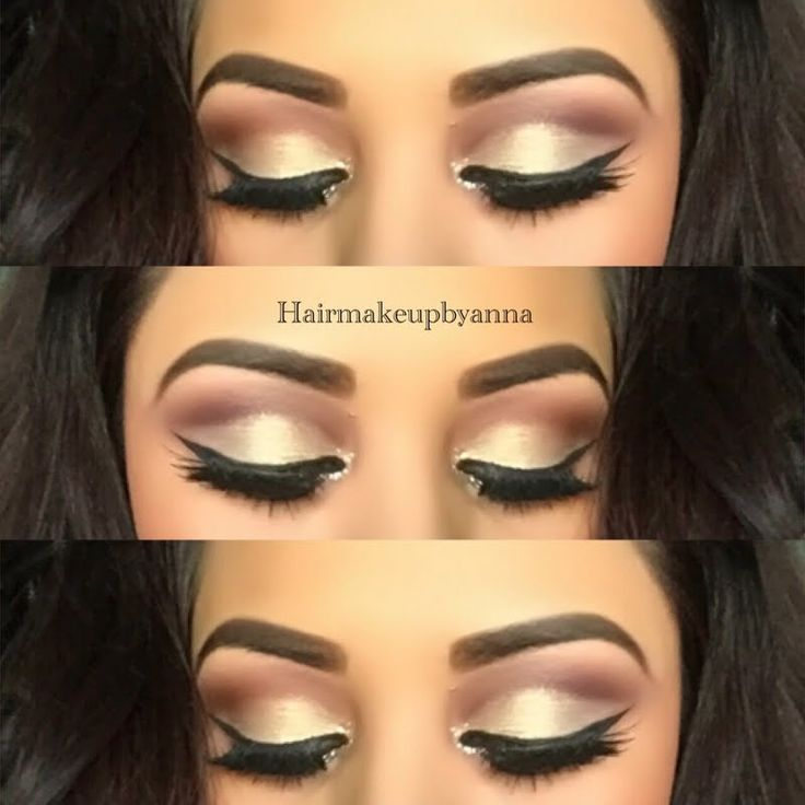 This eye-stunner features a neutral eyeshadow combination with cut crease look paired with lashes and winged liner. Get the products listed to DIY.