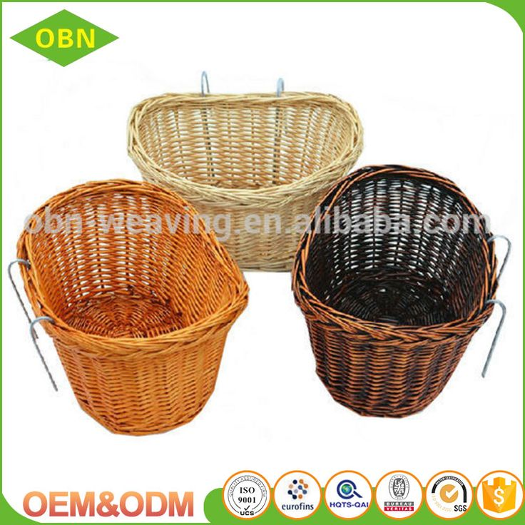 Wholesale high quality handmade woven wicker removable wicker bicycle basket #bicycles, #basket