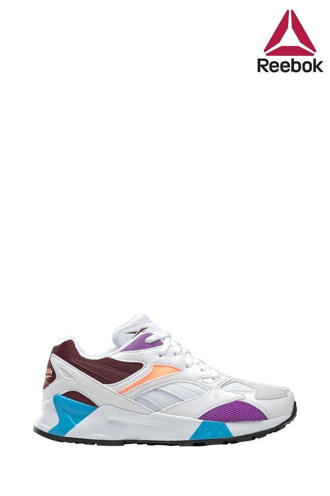 reebok purple trainers