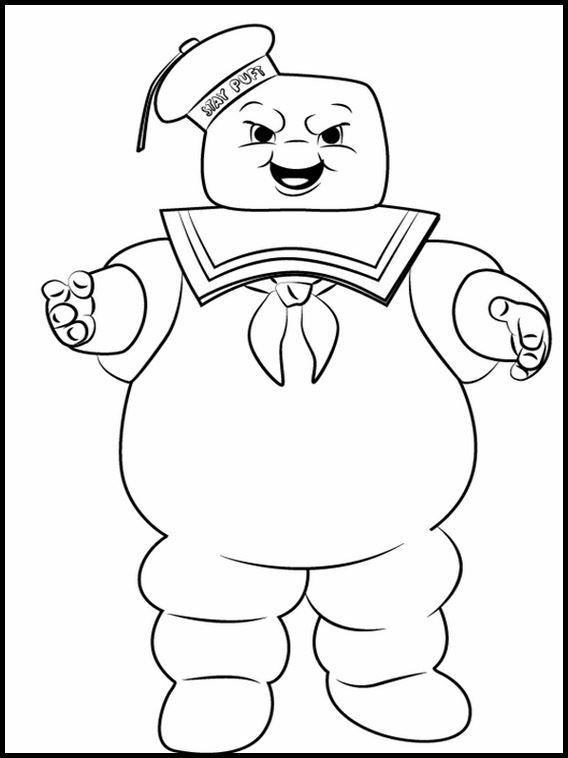 Printable Coloring Pages For Kids Ghostbusters 2 Ghostbusters