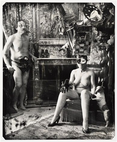 Shoe fucker and the woman who believes she´s becoming a camera, Paris by Joel-Peter Witkin