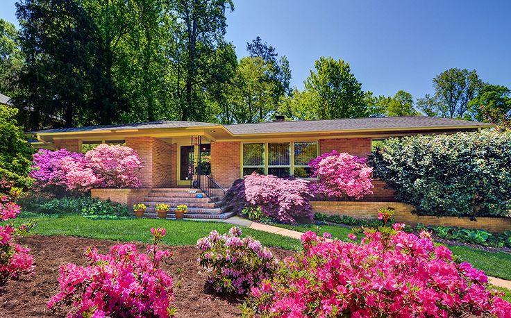 1960's Transistional Ranch | South Charlotte | Robinson Woods |