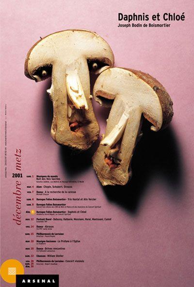 Michal Batory, Daphnis & Chloé, 2001 #poster