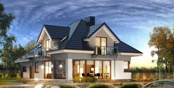 3 Bedroom House Plan With An Attic Muthurwa Com Bedroom House Plans House Plans Attic House