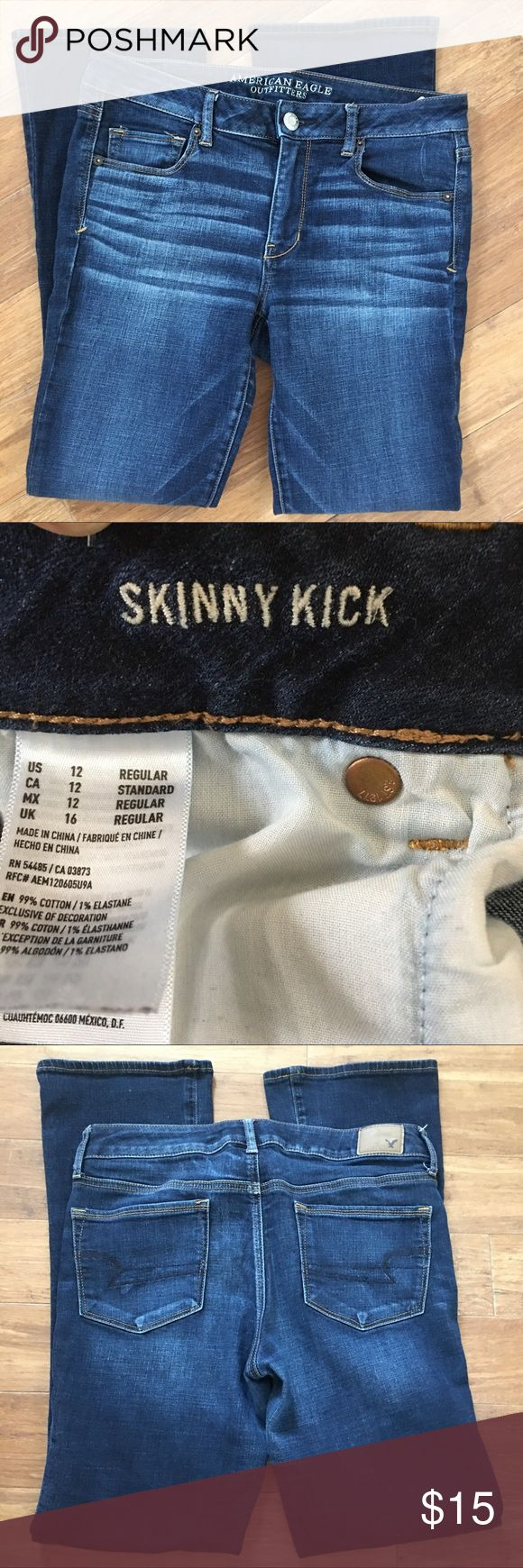 American Eagle Jeans Skinny Kick style American Eagle Outfitters Jeans Skinny