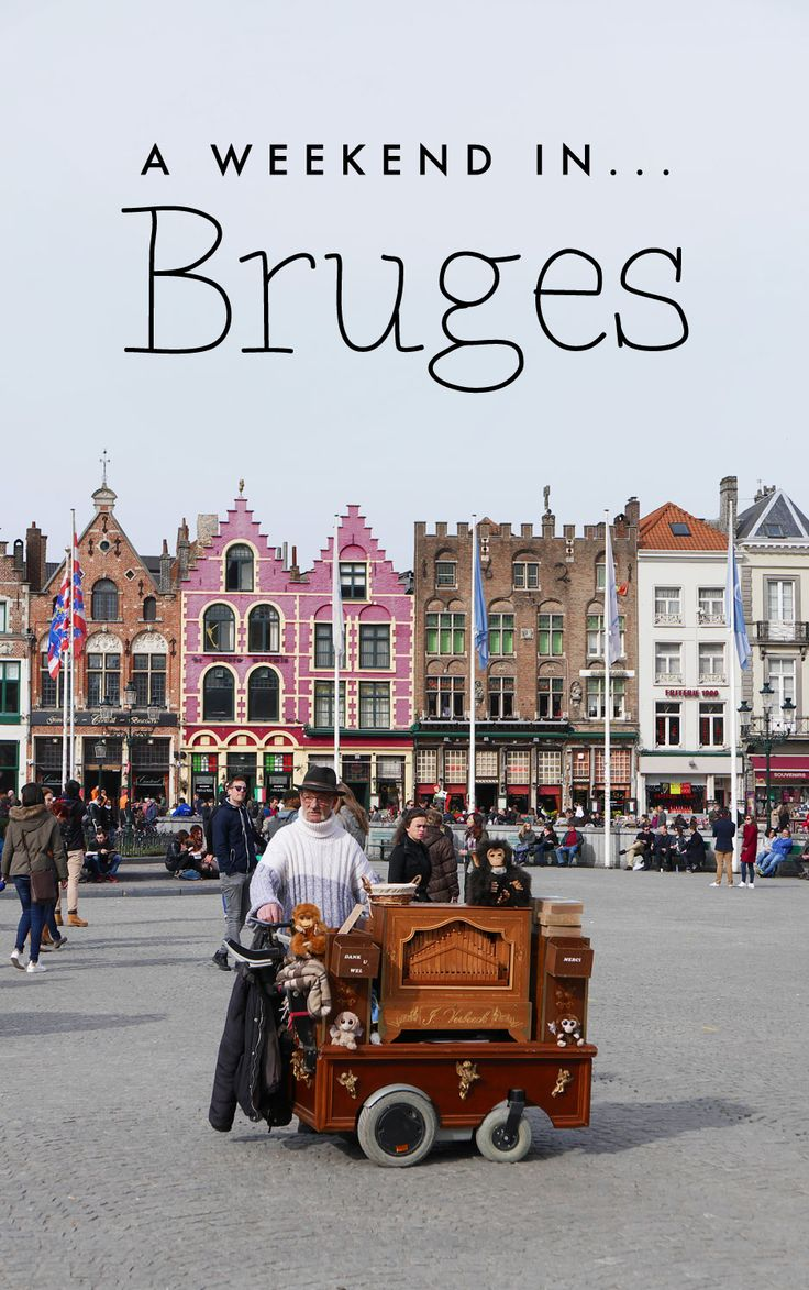 A weekend in Bruges: tips for 3 days in the city