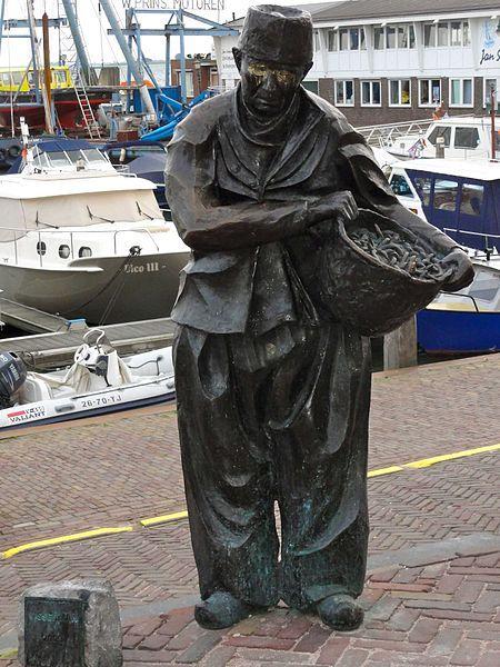 Visserman door Jans van Baarsen Volendam #NoordHolland #Volendam