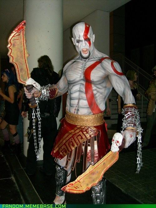 God of war kratos body