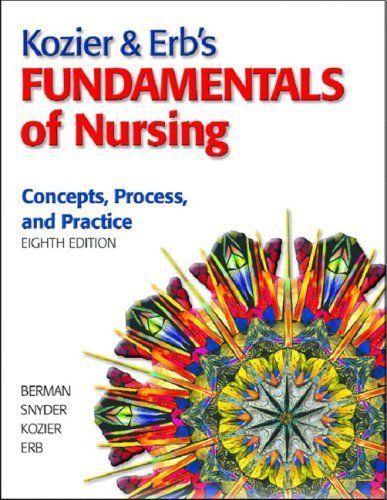 Fundamentals Of Nursing Kozier And Erb 8th Edition Pdf