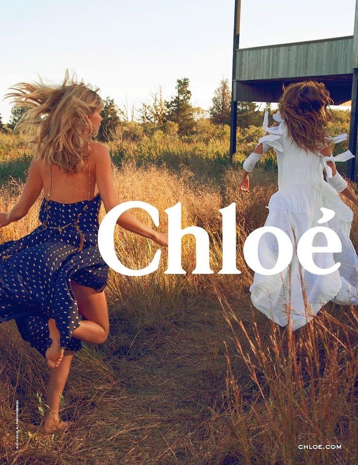 Julia Stegner and Lou Doillon by Inez & Vinoodh for Chloe