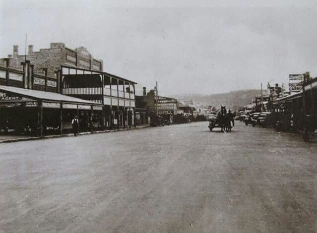 Parker St,Cootamundra in New South Wales (year unknown).
