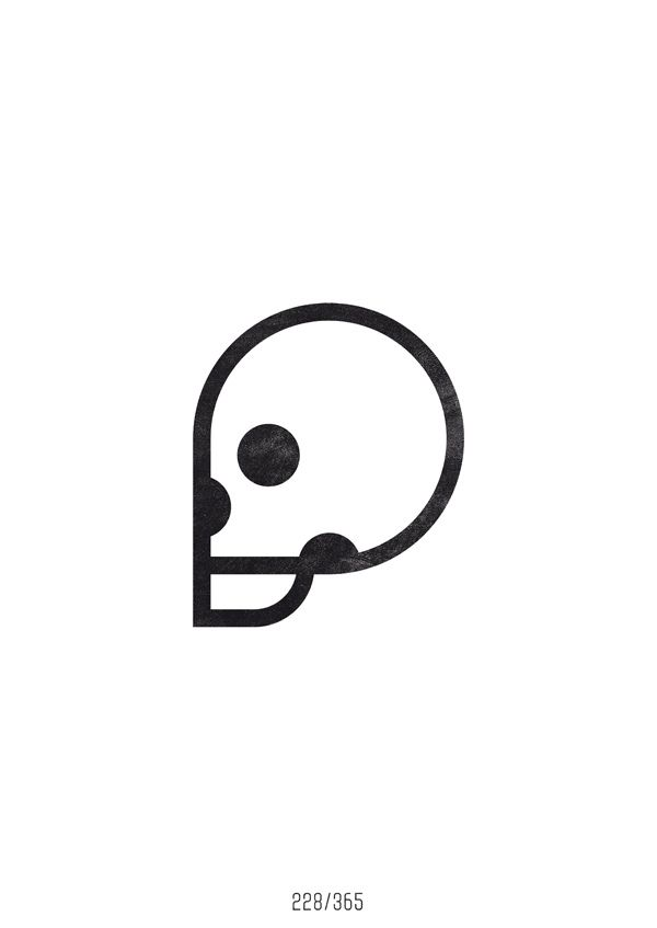 https://flic.kr/p/ahmhDJ   228/365 - The All Day Everyday Project   Skull Monday #20.  ---  The All Day Everyday Project is my graphic design diary. Many designers did some similar projects before - designing something cool everyday. And so do I now. When you work for an agency or clients, you're often not allowed to make things look exactly like you want it - which is sometimes frustrating, but that's the way it goes. So to keep stuff in balance, I decided to start this project. Enjoy…