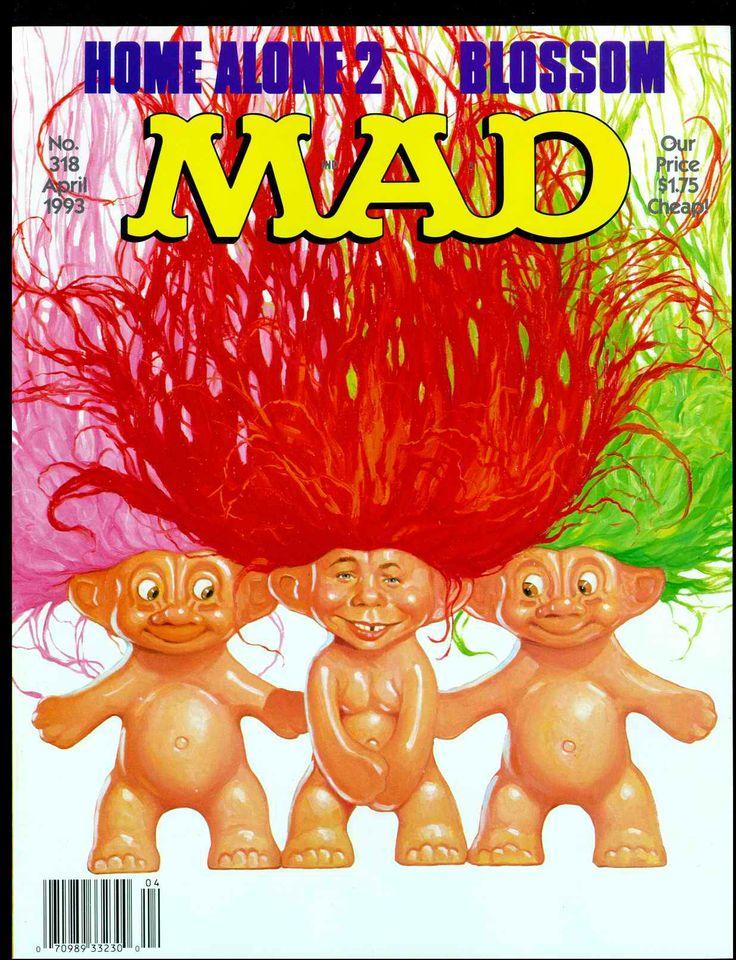 Mad Magazine #trolls #troll #dolls