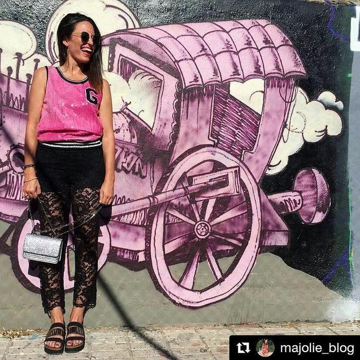 Eres una #chica urbanita? #Glamurosa? Cañera? Lo tuyo son nuestras #sandalias bio DORIA.Mira qué bien le quedan a @majolie_blog! #sixtysevenshoes#sixtyseven . @majolie_blog with @repostapp  S U P E R L O O K! . Hoy me apetecía romper un poco con lo clásico y llevar un estilo más urbano qué os parece? A mí super cañero Todo de @caliente_moda . . #superlook #urbanstyle #estilourbano #fashiondiaries #fashionpost #ootd #lookoftheday #instamood #instalook #instafashion #instablogger #majolie…