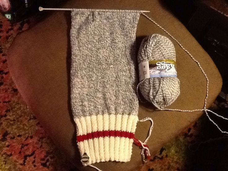 Sept. 22/15. Last day of summer, I'd better knit faster! ⛄️