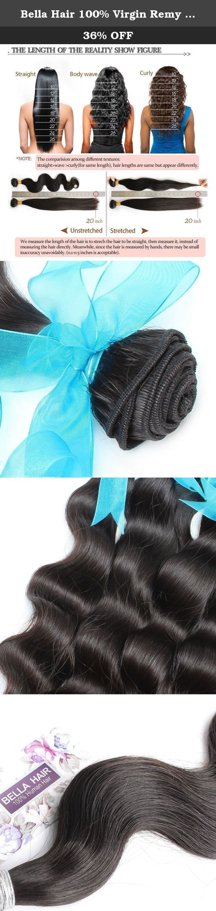 """Bella Hair 100% Virgin Remy Brazilian Hair Bundles Body Wave Weave Hair Extensions 1 Bundles 8""""-30"""" Natural Color (28""""). Brazilian Virgin Hair Bundles 1) Material: 100% Brazilian virgin human hair , unprocessed natural hair with no chemical process, No Acid! No Dye! 100% Real Human Hair. 2) Quality: Grade AAAAA, No shedding, No tangle, No lice, intact cuticle, long lifetime 3) Length: 28 inch 100% ture to the length 4) Color: Natural Black Color (can be dyed or bleached) 5) Hair Type…"""
