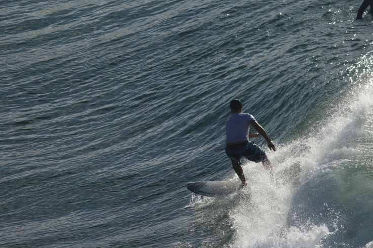 Co Owner Joseph Phillips hitting the sets at Noosa.