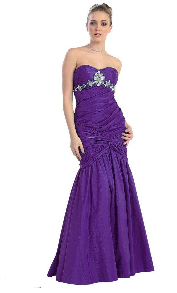 Cheap Purple Formal Dresses Fashion Dresses