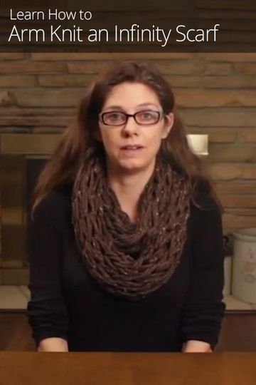 Knitting How To Bind Off Scarf : Knit without needles with arm knitting this quick and