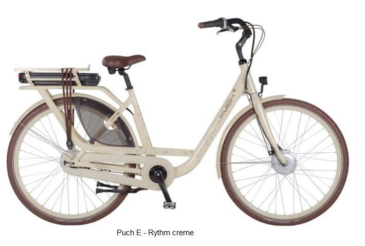 puch E-Rythm moeder fiets elektrisch op=op