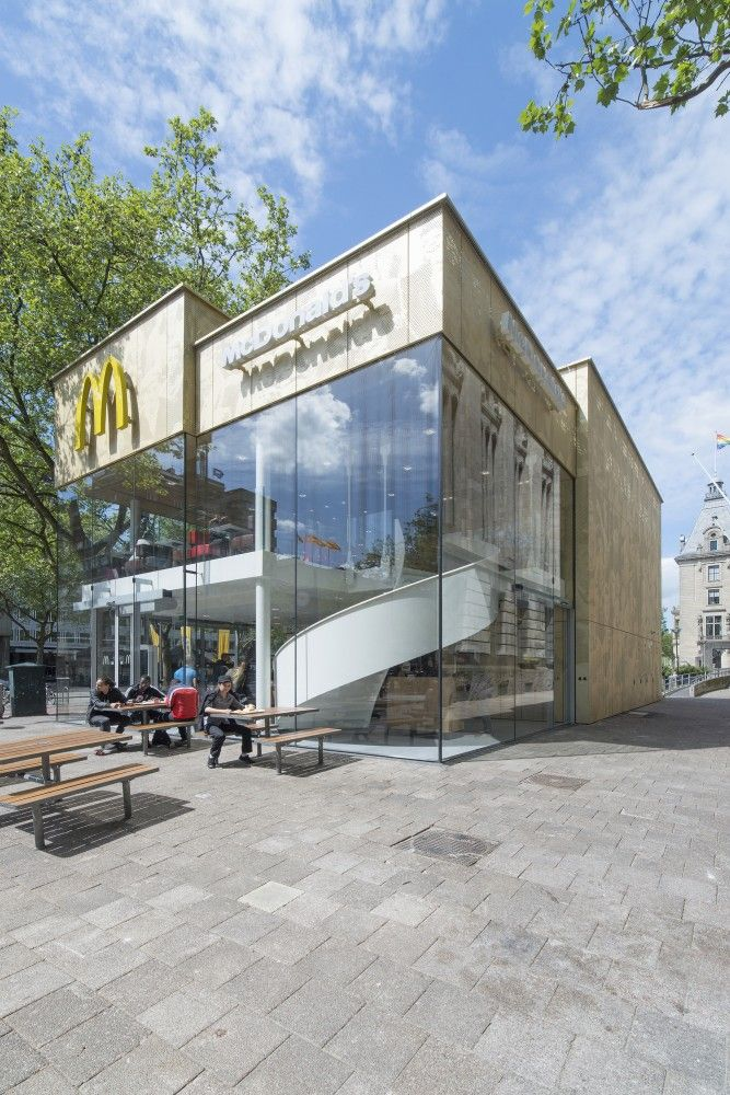McDonald's Pavilion on Coolsingel / mei architects and planners
