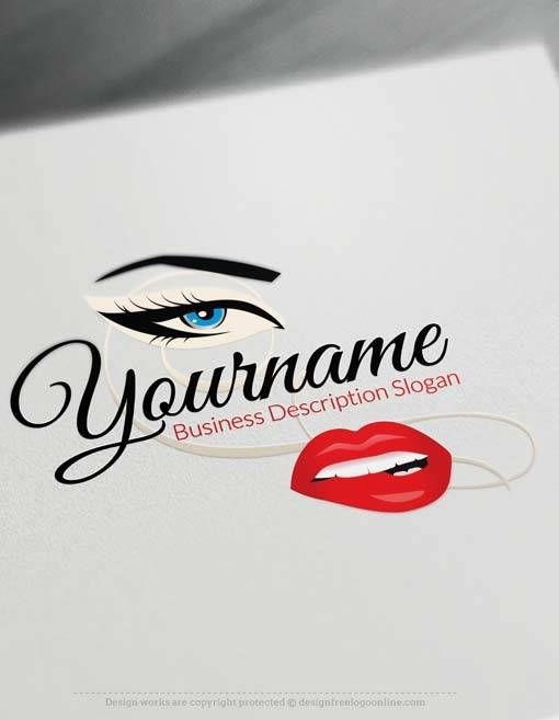 Create Your Own Y Face Logo Free With Makeup Maker Group Repins Amtify Connect Logos Design
