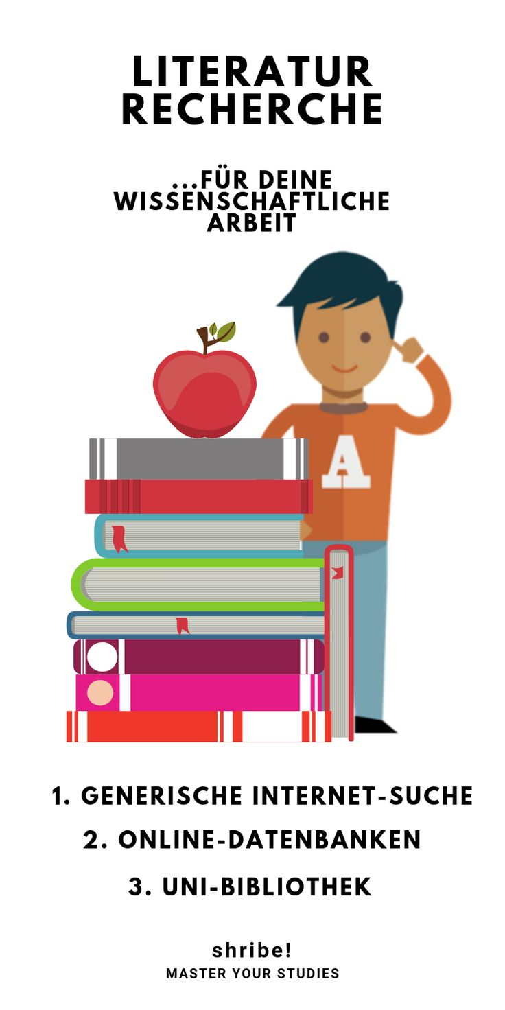 Literaturrecherche für deine wissenschaftliche Arbeit | In 3 Schritten 📚