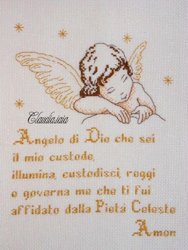 Angioletto con preghiera - Dall'album di Claudia.iaia
