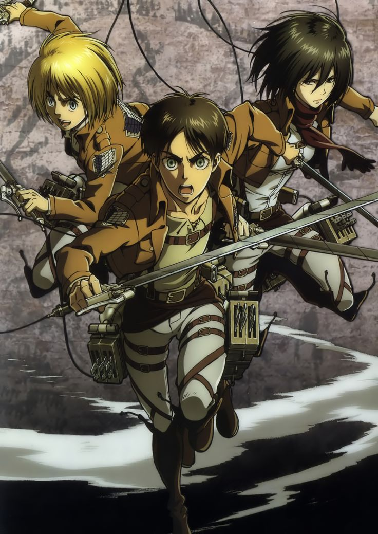 Tags DVD (Source), Scan, Official Art, Shingeki no Kyojin