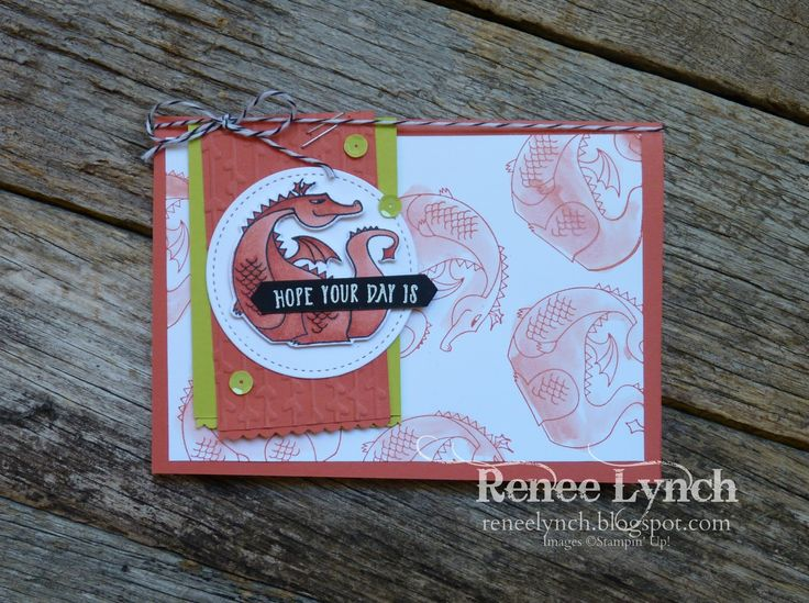 Renee Lynch Independent Stampin' Up! Demonstrator Australia Myths and Magic, SAB Occasions Catalogue 2018, Stampin' Blends, watercolour, birthday card, kids birthday card Welcome to the INKspired Blog hop. I'v been playing with the myths an...