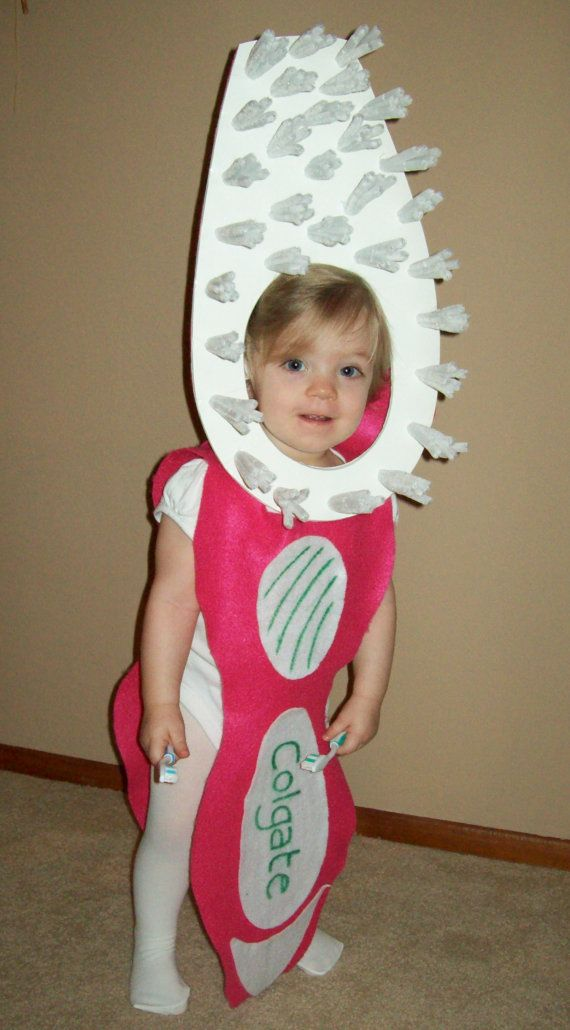 Pink Toddler Toothbrush Costume by BabytoSOBig on Etsy, $38.00