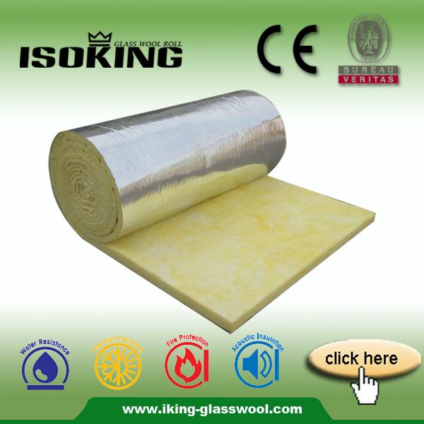 ISOKING Fibra Manta De Lana De Vidrio Con Papel De Aluminio de Aislamiento Térmico-Otros Material de aislamiento térmico-Identificación del producto:60177450260-spanish.alibaba.com