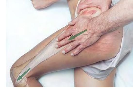 Manual Therapy for the Iliotibial Band (ITB) Repinned by SOS Inc. Resources http://pinterest.com/sostherapy.