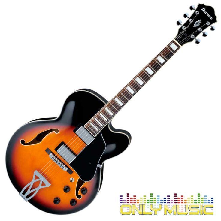 Guitarra Ibanez Eléctrica Artcore Color Sombreado Amarillo Marca