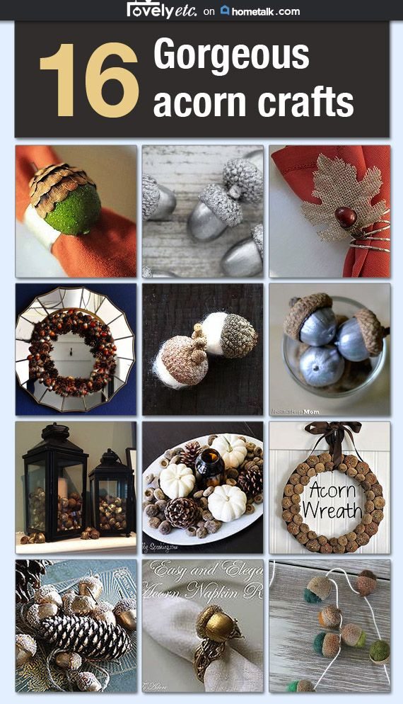 16 acorn crafts to go nuts for idea box by carrie lovely for How to preserve acorns for crafts