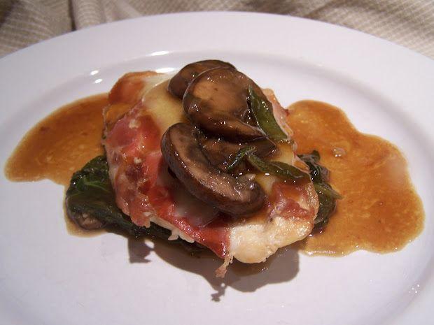 Go Ahead... Take A Bite!: Saltimbocca alla Romana (Chicken)