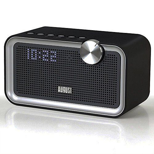 [New Release 2016] August SE55 - Bluetooth Stereo Clock Radio Speaker System with 4 Build-In Preset EQs, Passive Radiator for Bass, FM Radio and Aux In - An Ideal Bedside Alarm Clock and Home Speaker System - http://www.computerlaptoprepairsyork.co.uk/new-product-releases/new-release-2016-august-se55-bluetooth-stereo-clock-radio-speaker-system-with-4-build-in-preset-eqs-passive-radiator-for-bass-fm-radio-and-aux-in-an-ideal-bedside-alarm-clock-and-home-speaker