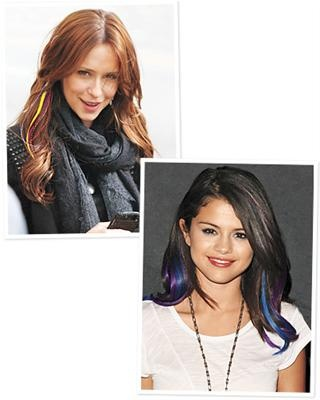 40 best celebrity hair extensions images on pinterest blink and youll miss these bright hair extensions because theyll pmusecretfo Gallery