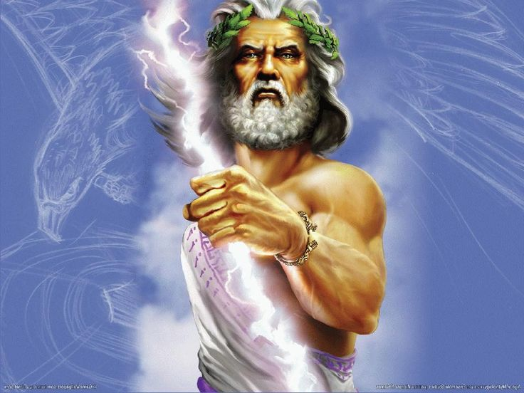 Image result for ancient greek zeus