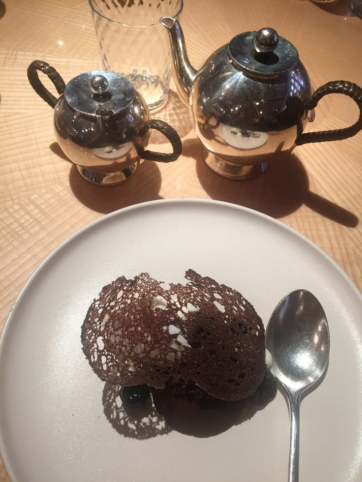 Peppermint Tea and Desserts at the Chiltern Firehouse