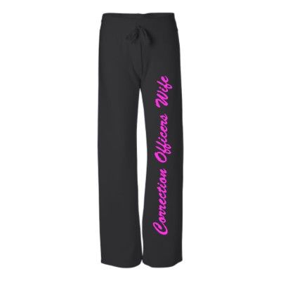 Corrections officer wife sweatpants.